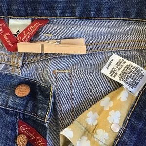 "Lucky Brand  Lil Maggie 19"" Boot Cut  Size 6"